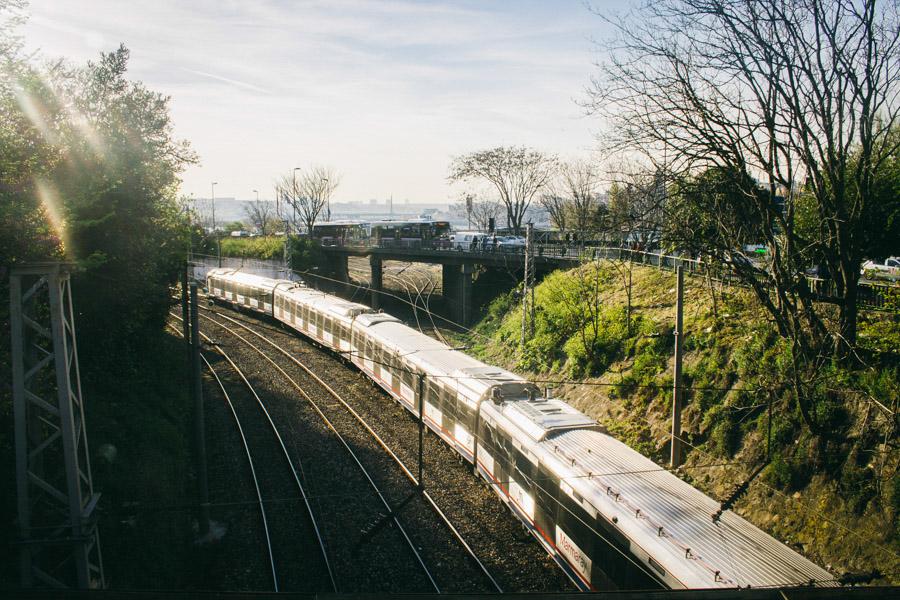 поезд в стамбуле