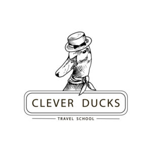 логотип школы путешествий