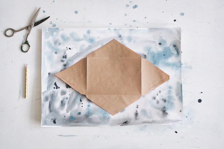 сделать конверт своими руками